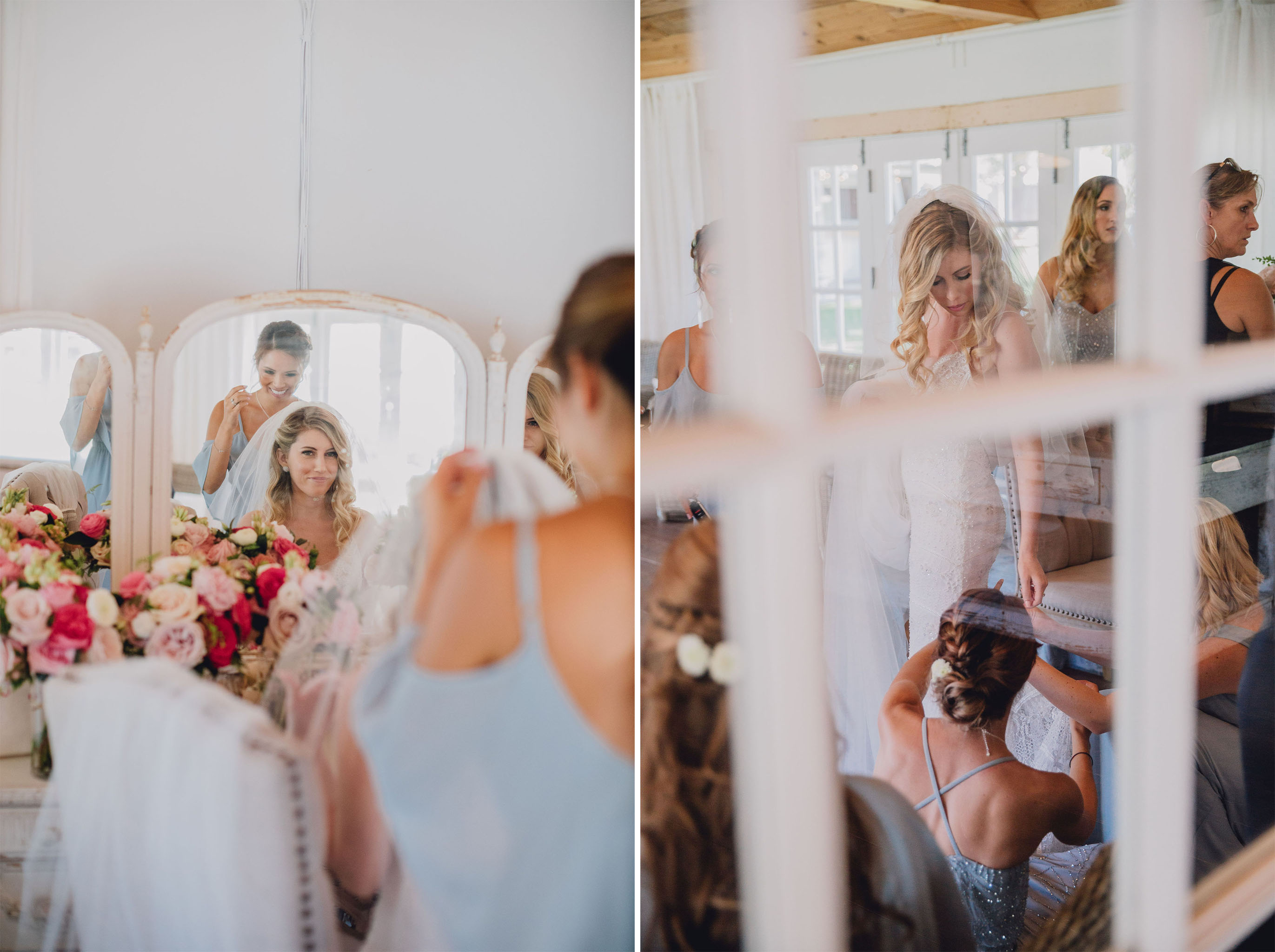 Bride Getting Ready | Triunfo Creek Vineyards