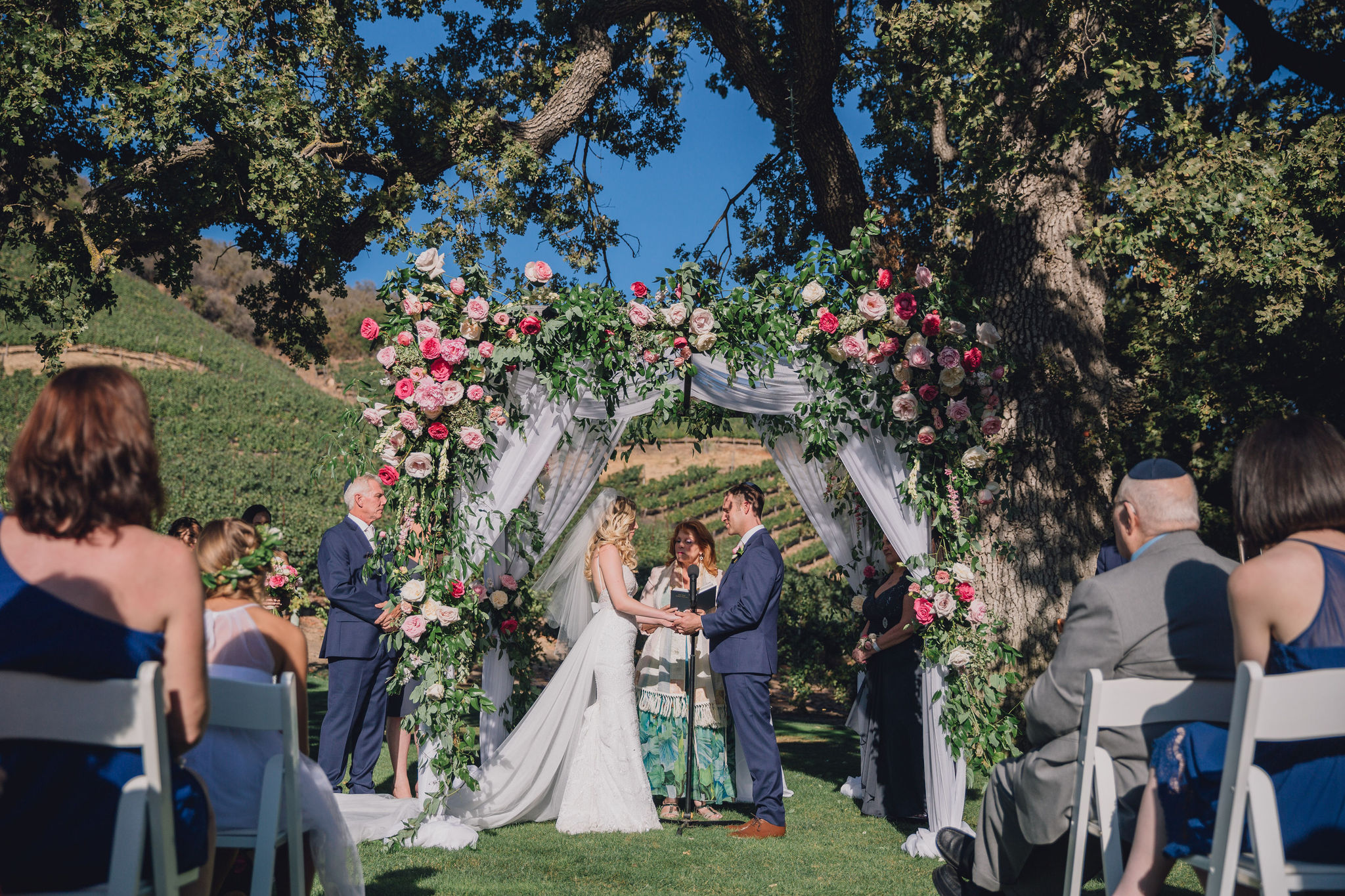 Oak Tree Ceremony | Triunfo Creek Vineyards
