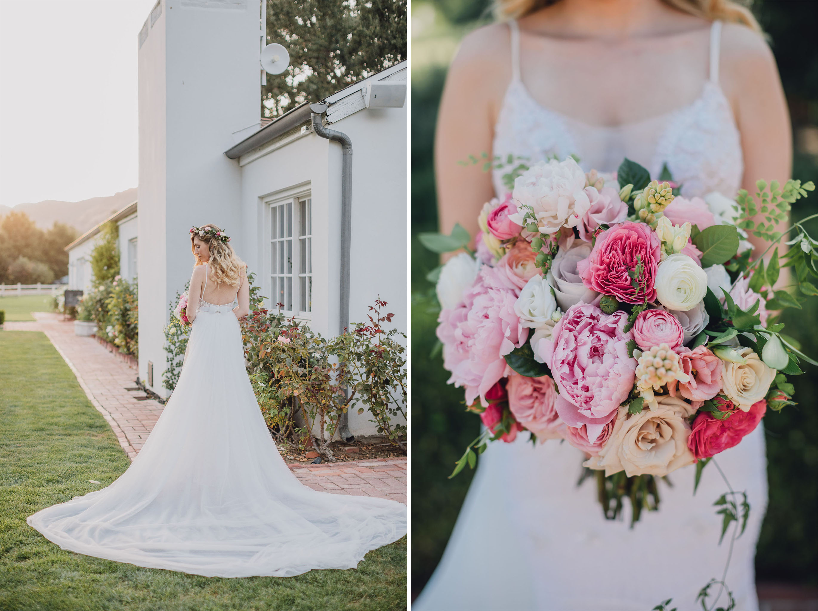Bride Wedding Dress | Triunfo Creek Vineyards