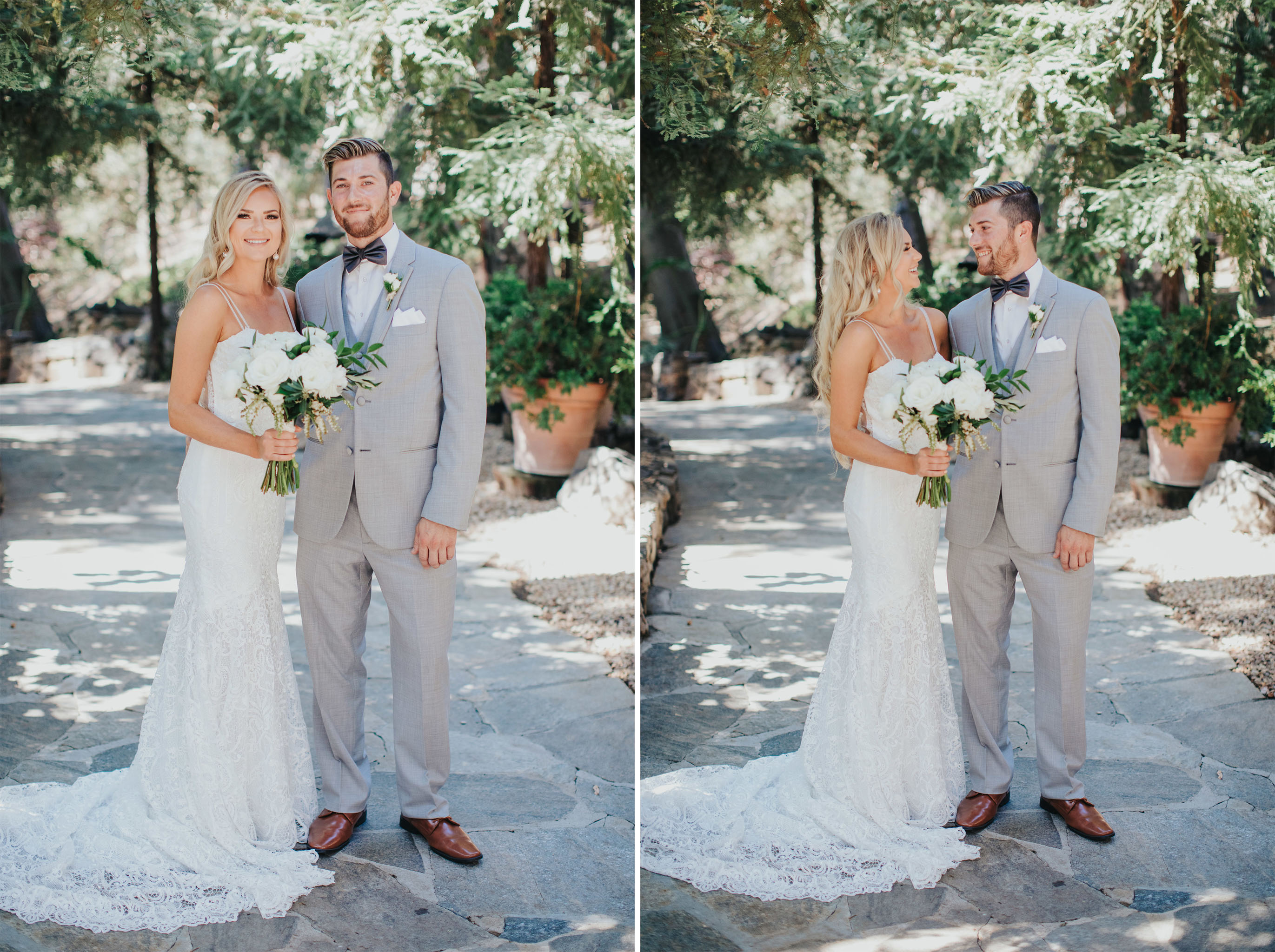 Bride & Groom | Calamigos Ranch