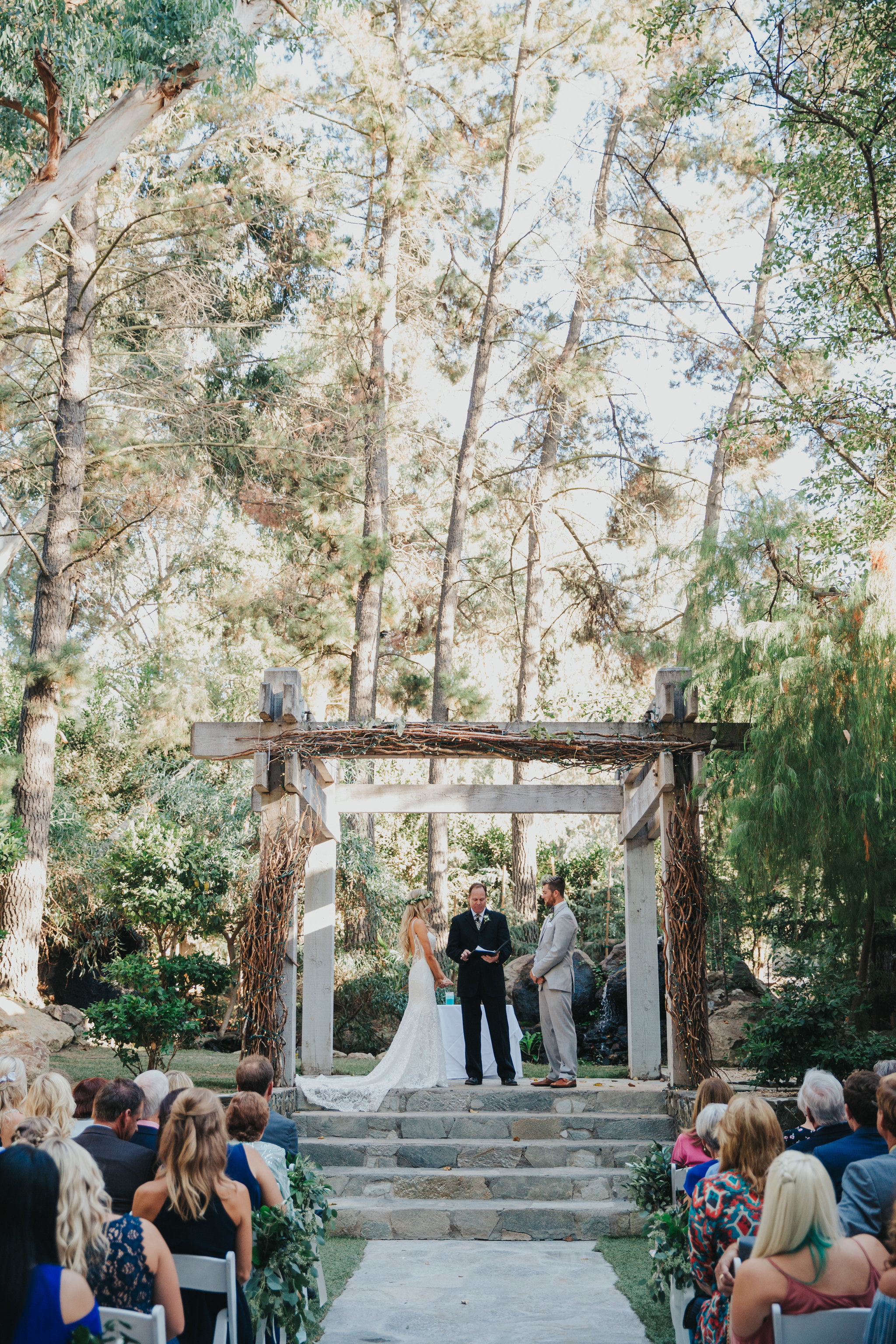 Redwoods Ceremony | Calamigos Ranch