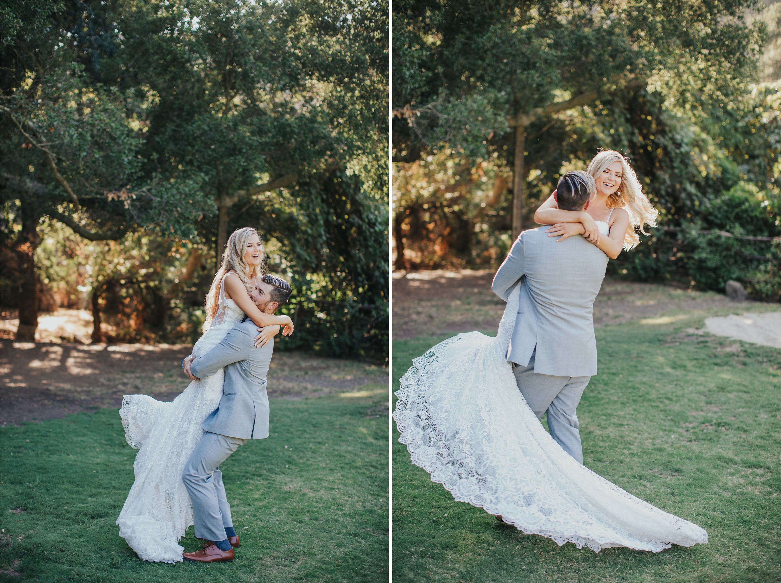 Wedding Twirl | Calamigos Ranch