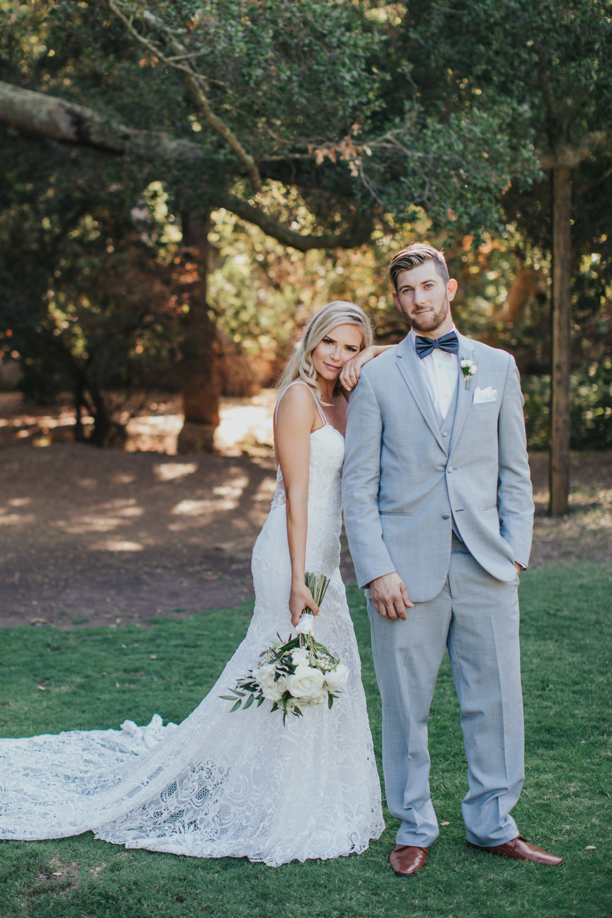 Model Bride & Groom | Calamigos Ranch