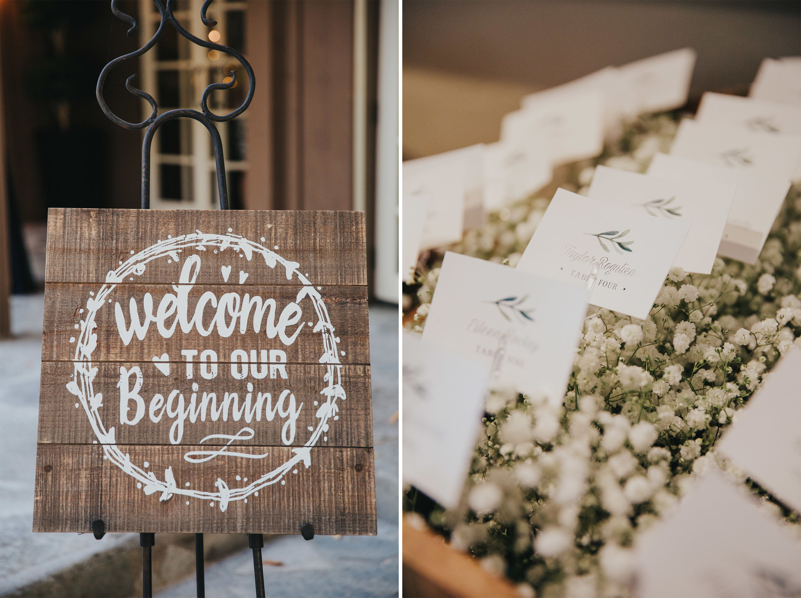 Wedding Welcome Sign | Calamigos Ranch