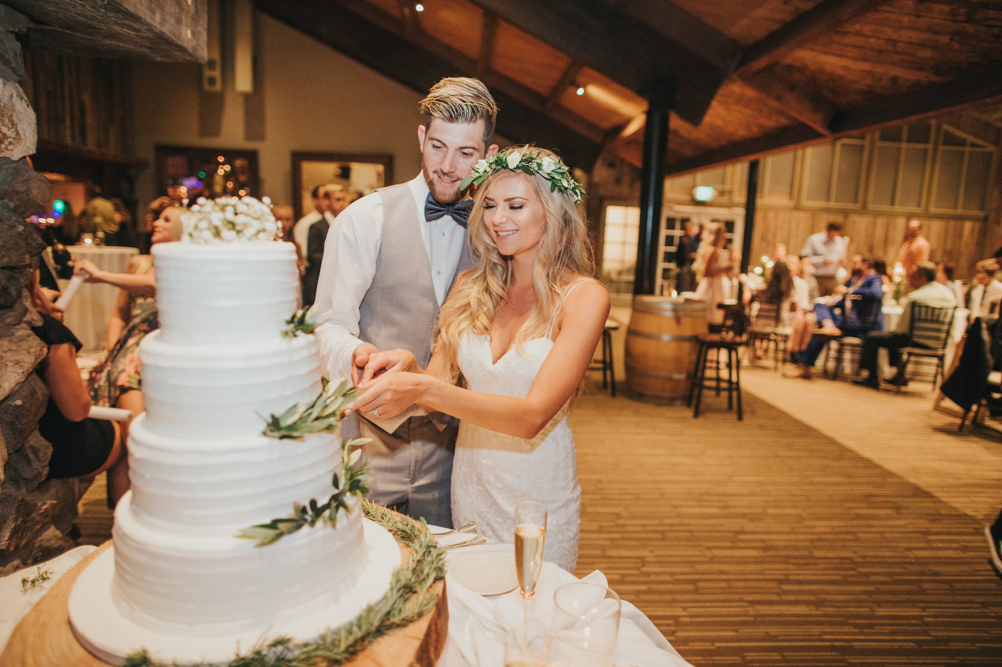 Cake Cutting | Calamigos Ranch