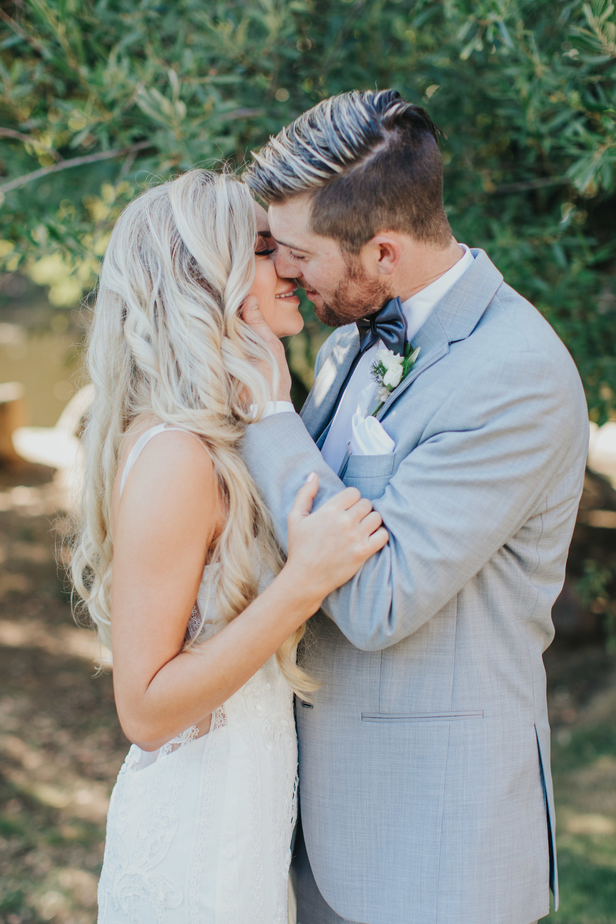 Wedding Kiss | Calamigos Ranch