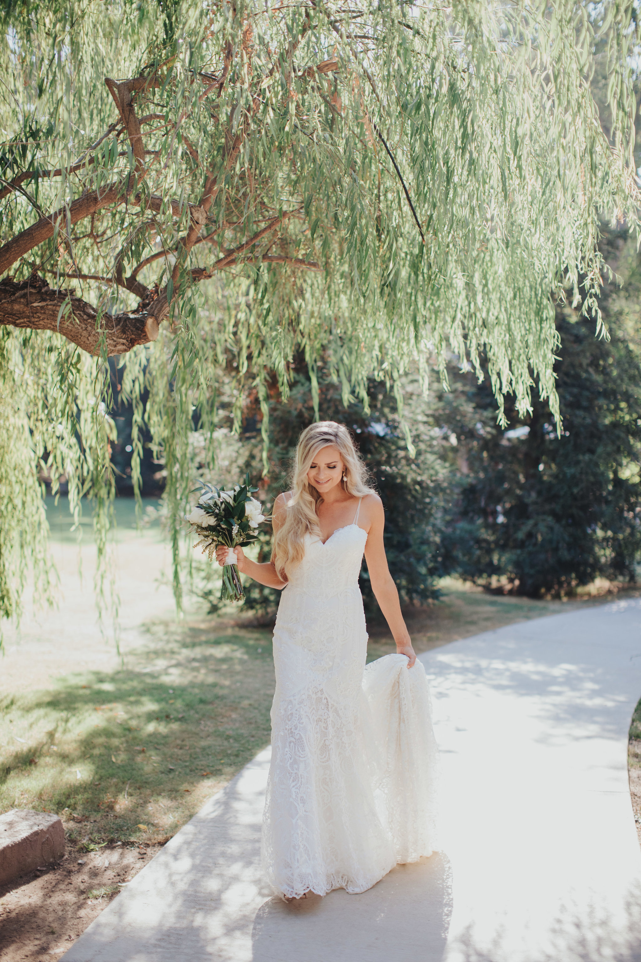 Bride Stroll | Calamigos Ranch