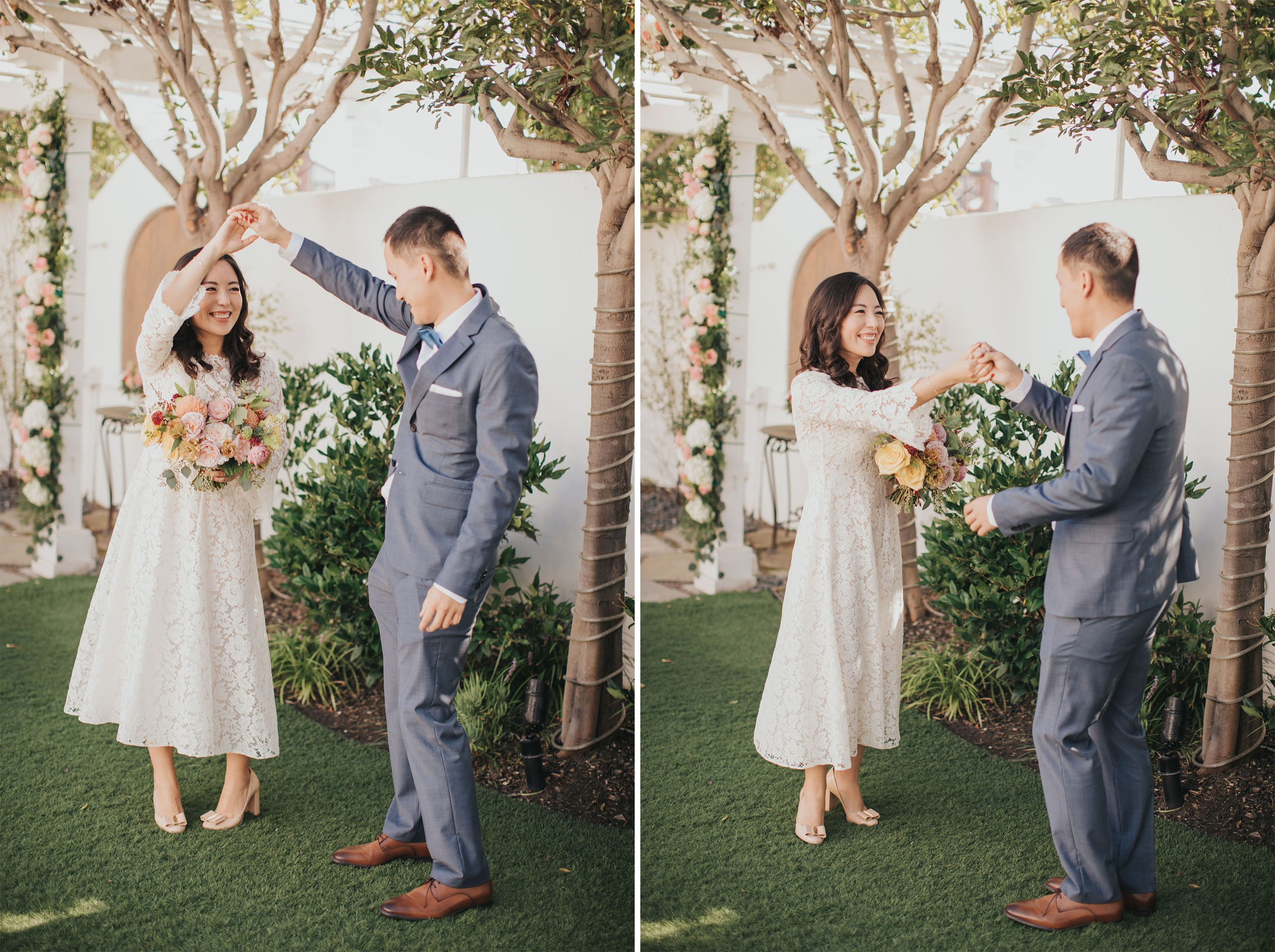 Bride Twirl | Verandas Beach House