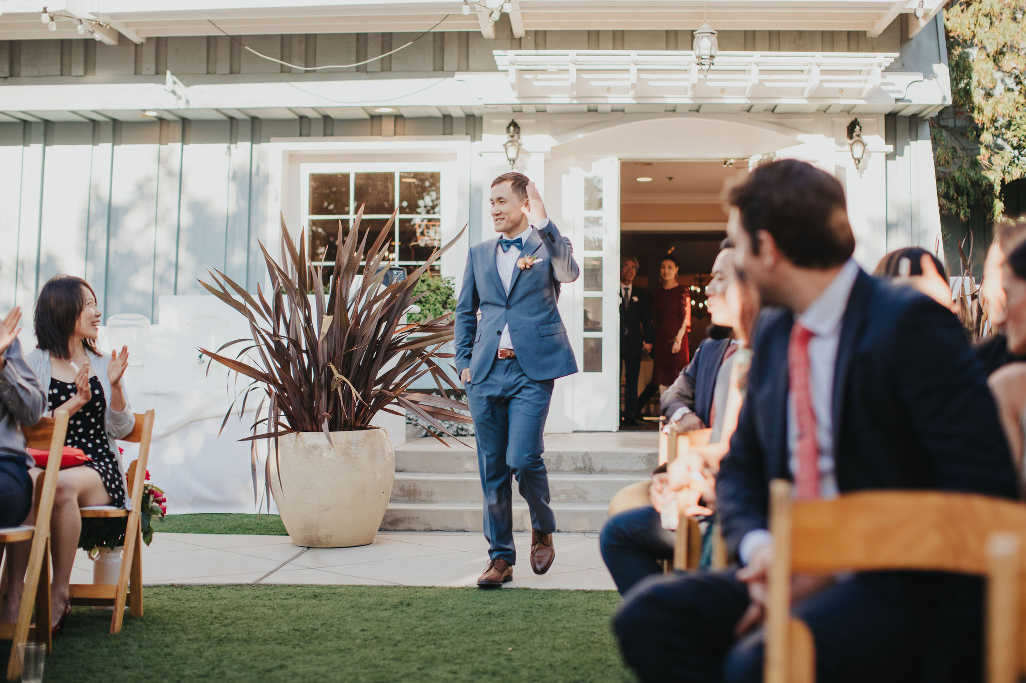 Groom Entrance | Verandas Beach House