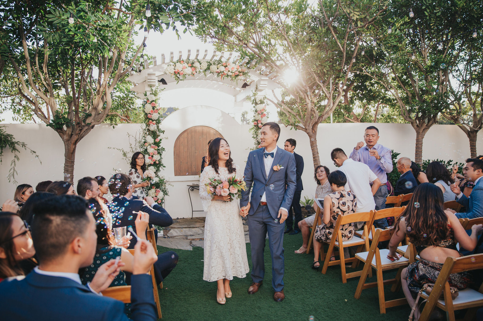 Ceremony Exit | Verandas Beach House
