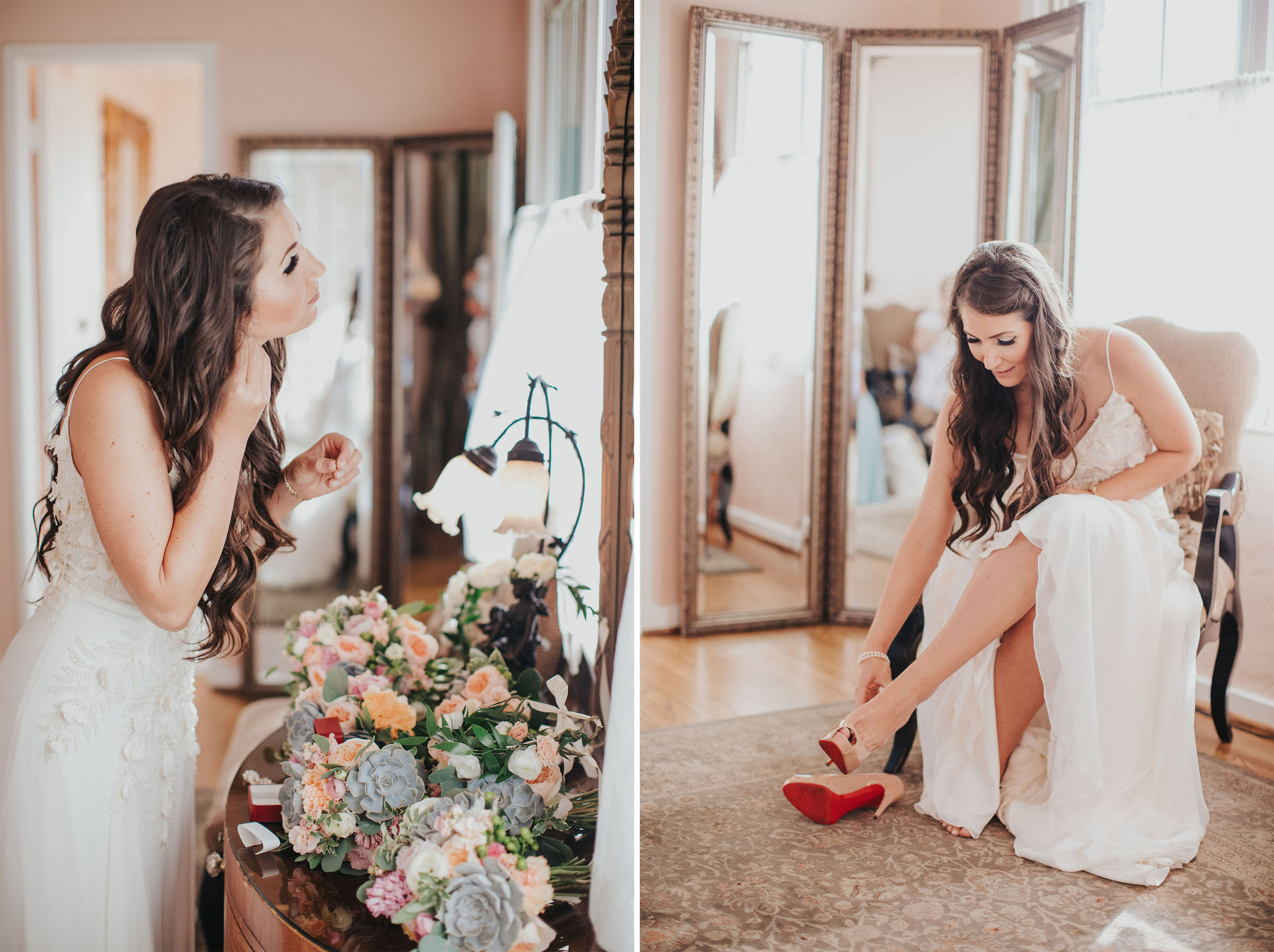 Bride Getting Ready | La Venta Inn