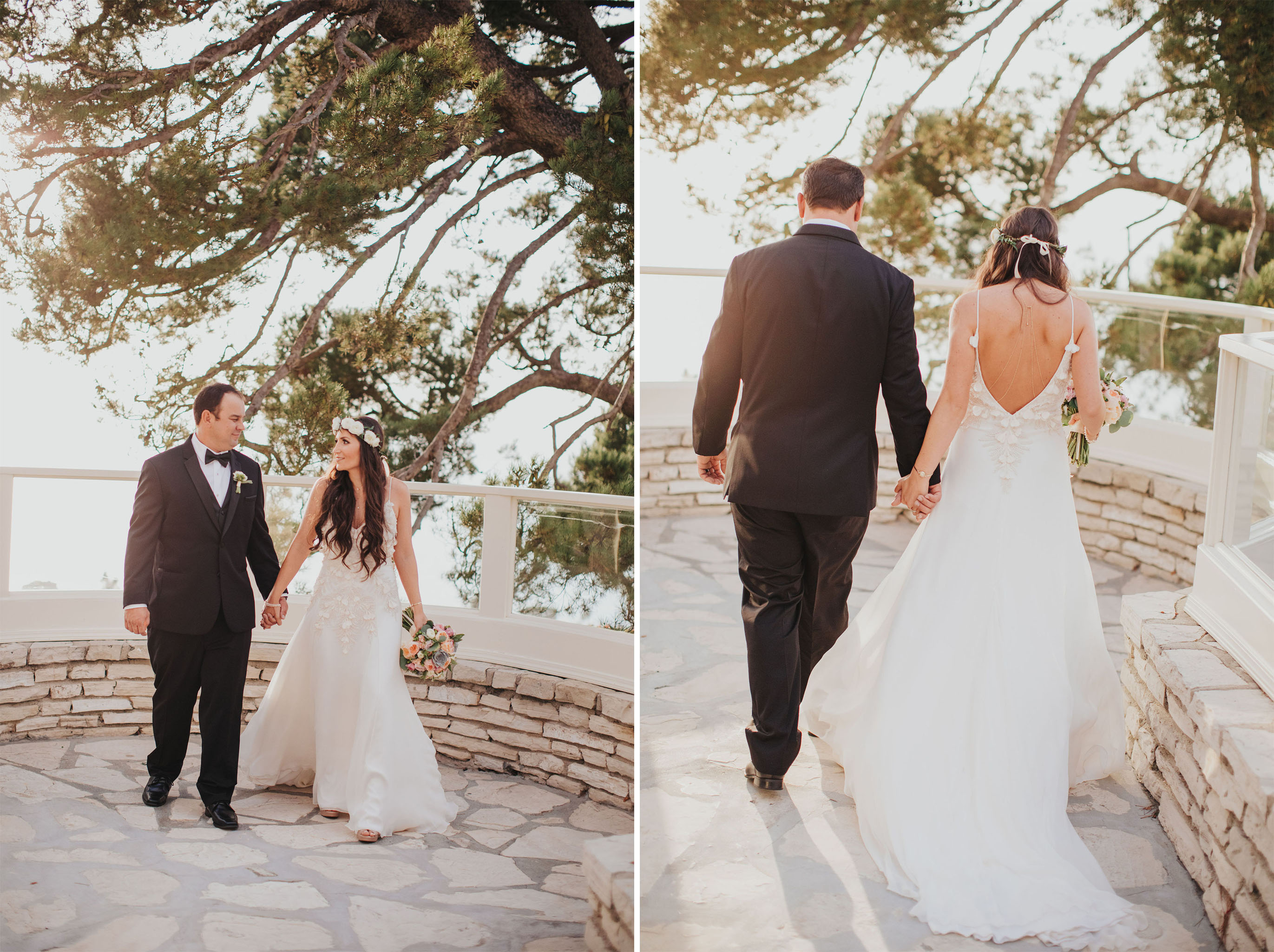 Bride Groom Stroll | La Venta Inn