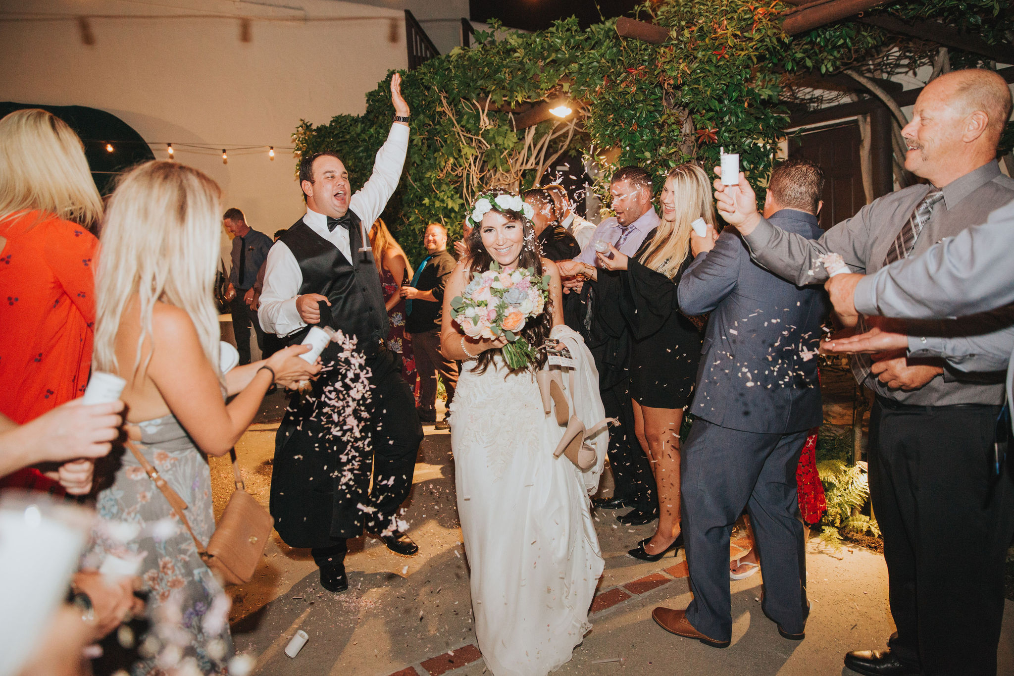 Confetti Send Off | La Venta Inn