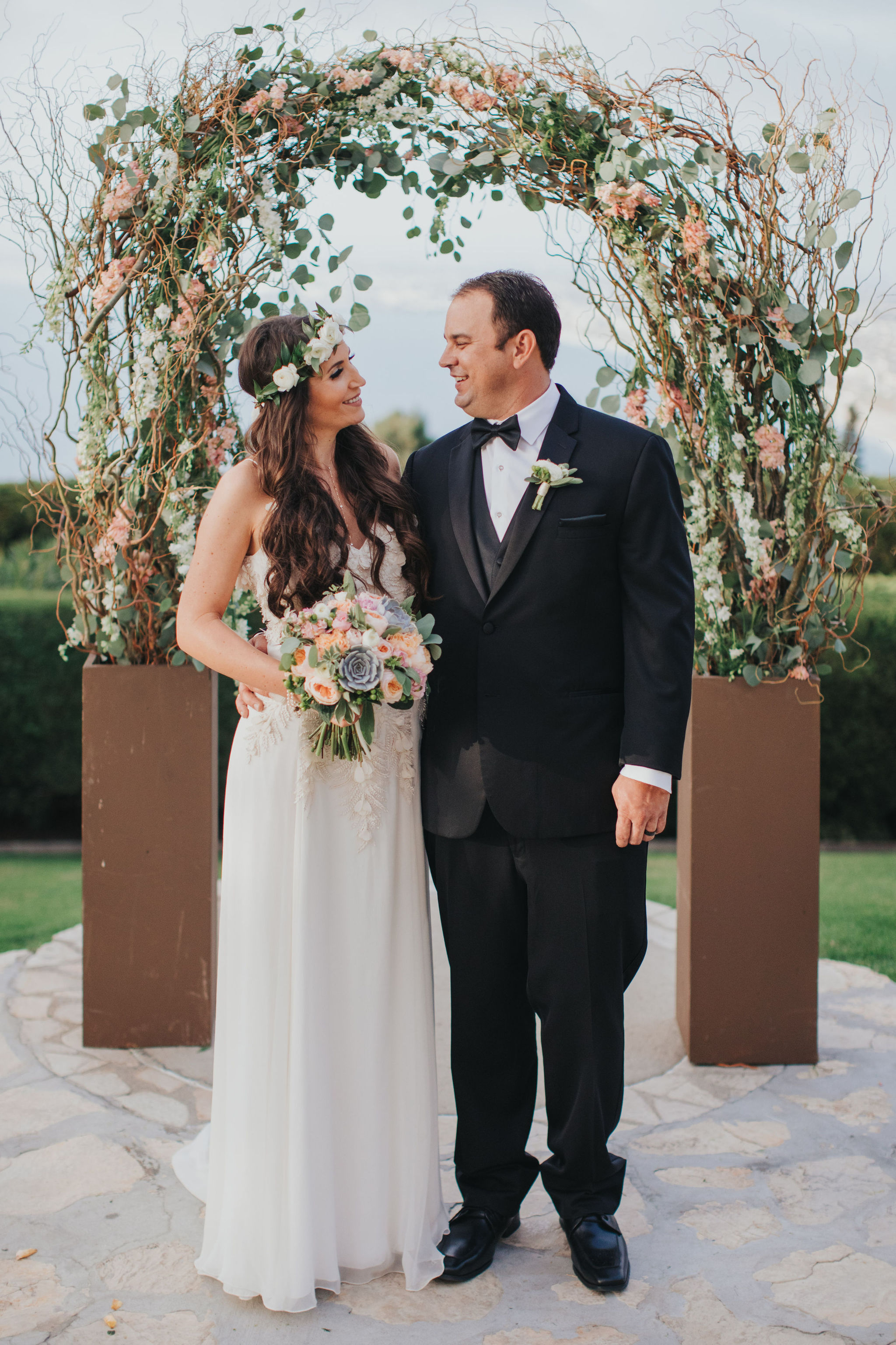 Bride & Groom | La Venta Inn