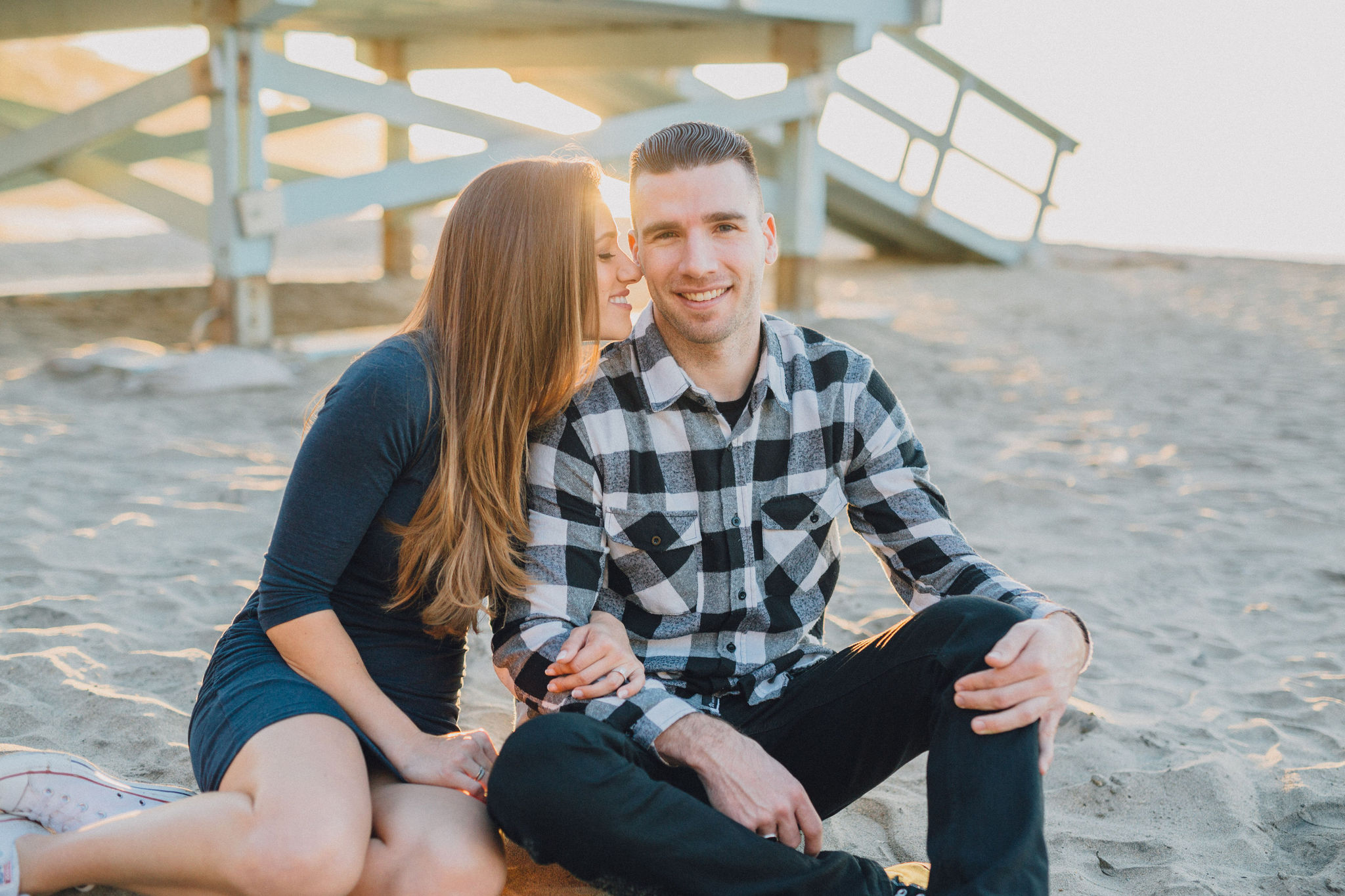 Beach Engagement | Palos Verdes