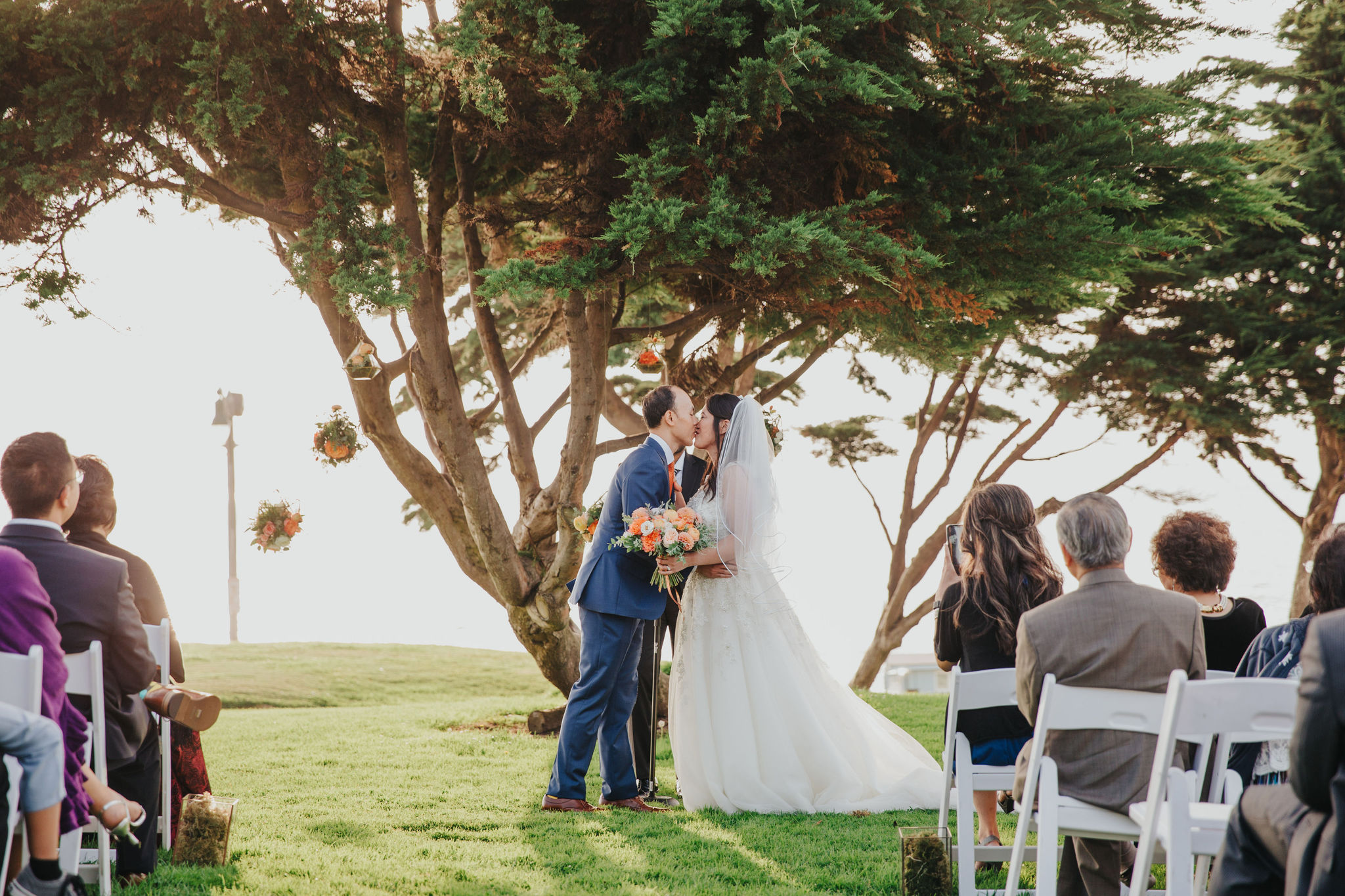 Ceremony Kiss | Redondo Beach