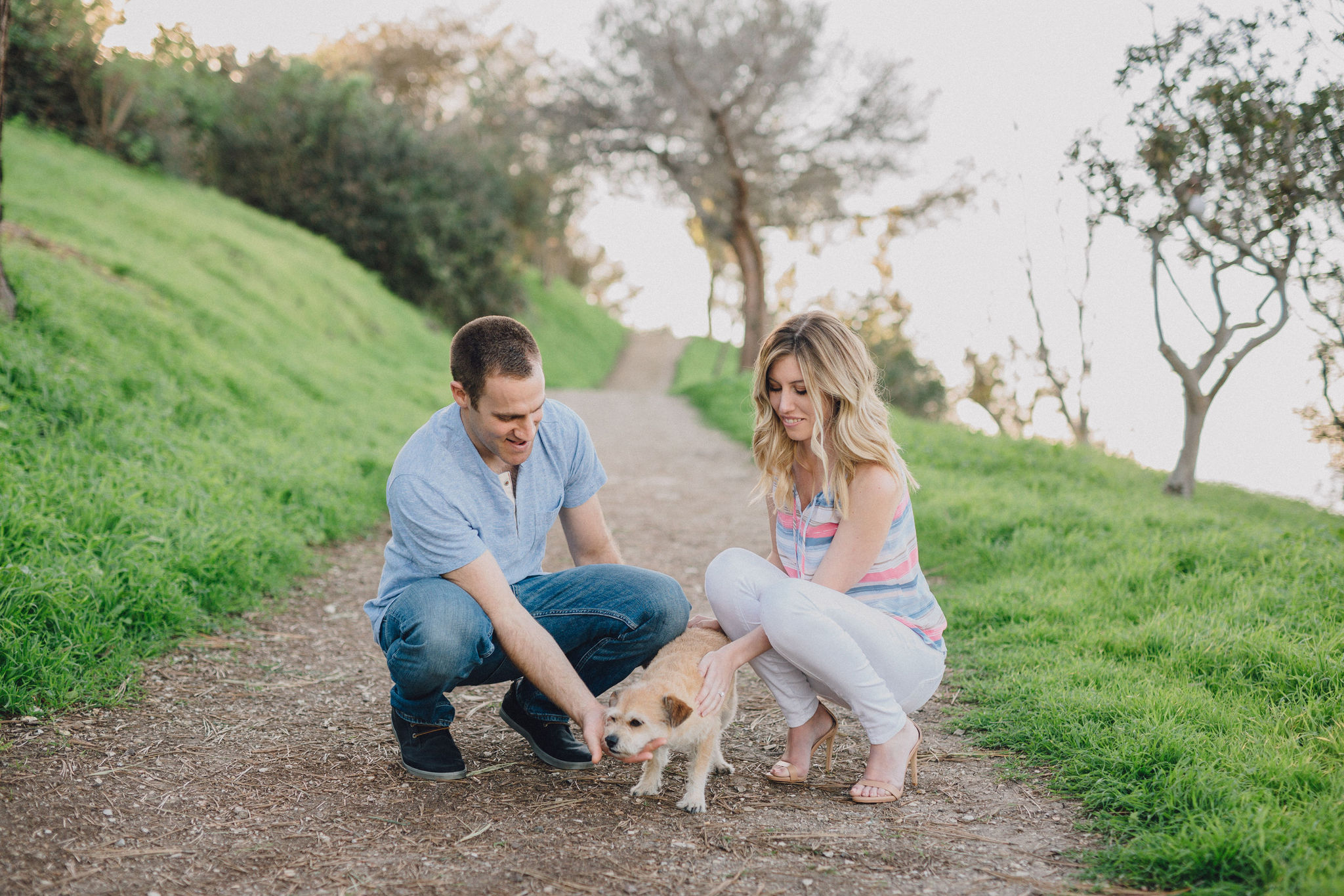 Bride & Groom Dog | Palos Verdes