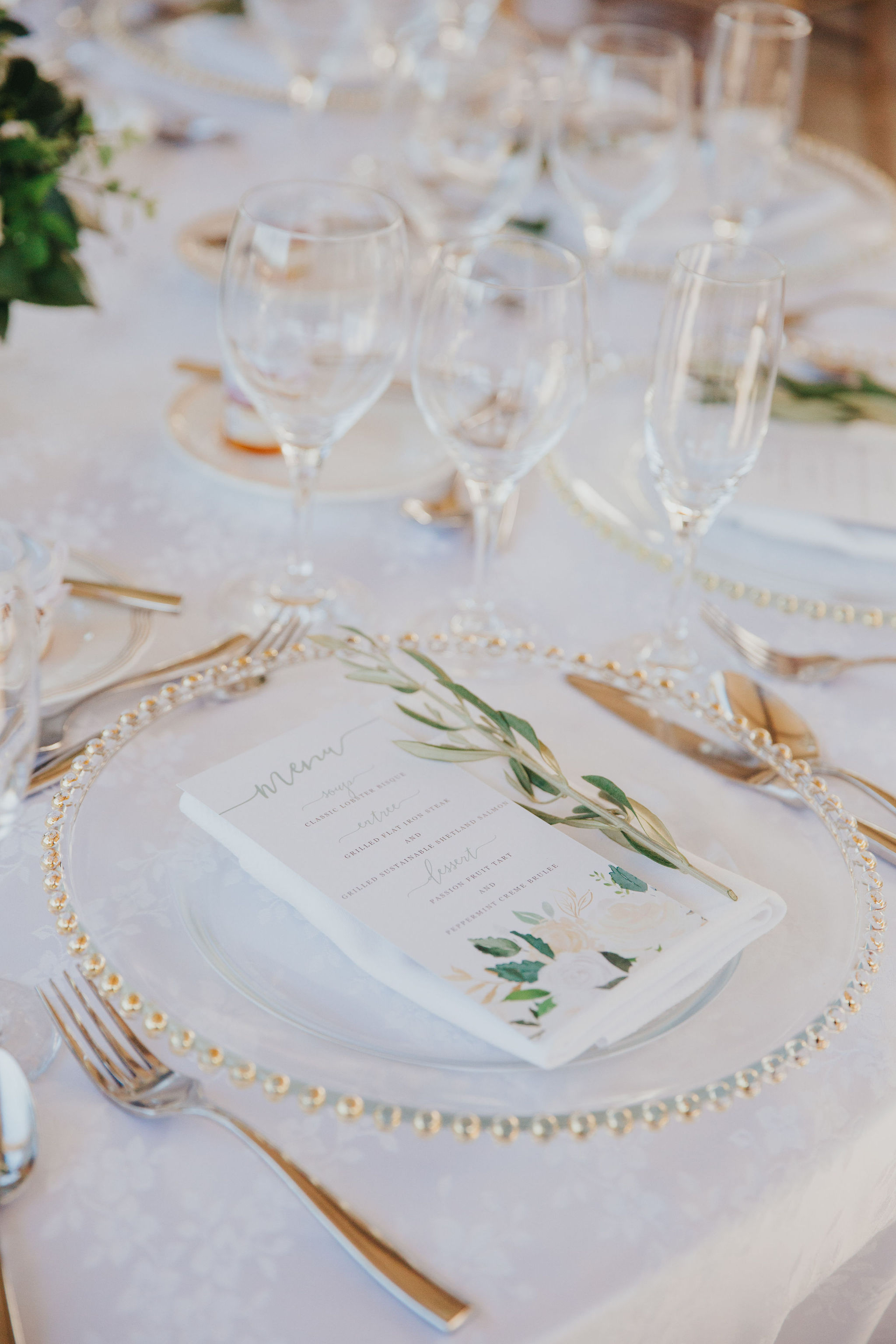 Place Setting | Monarch Resort