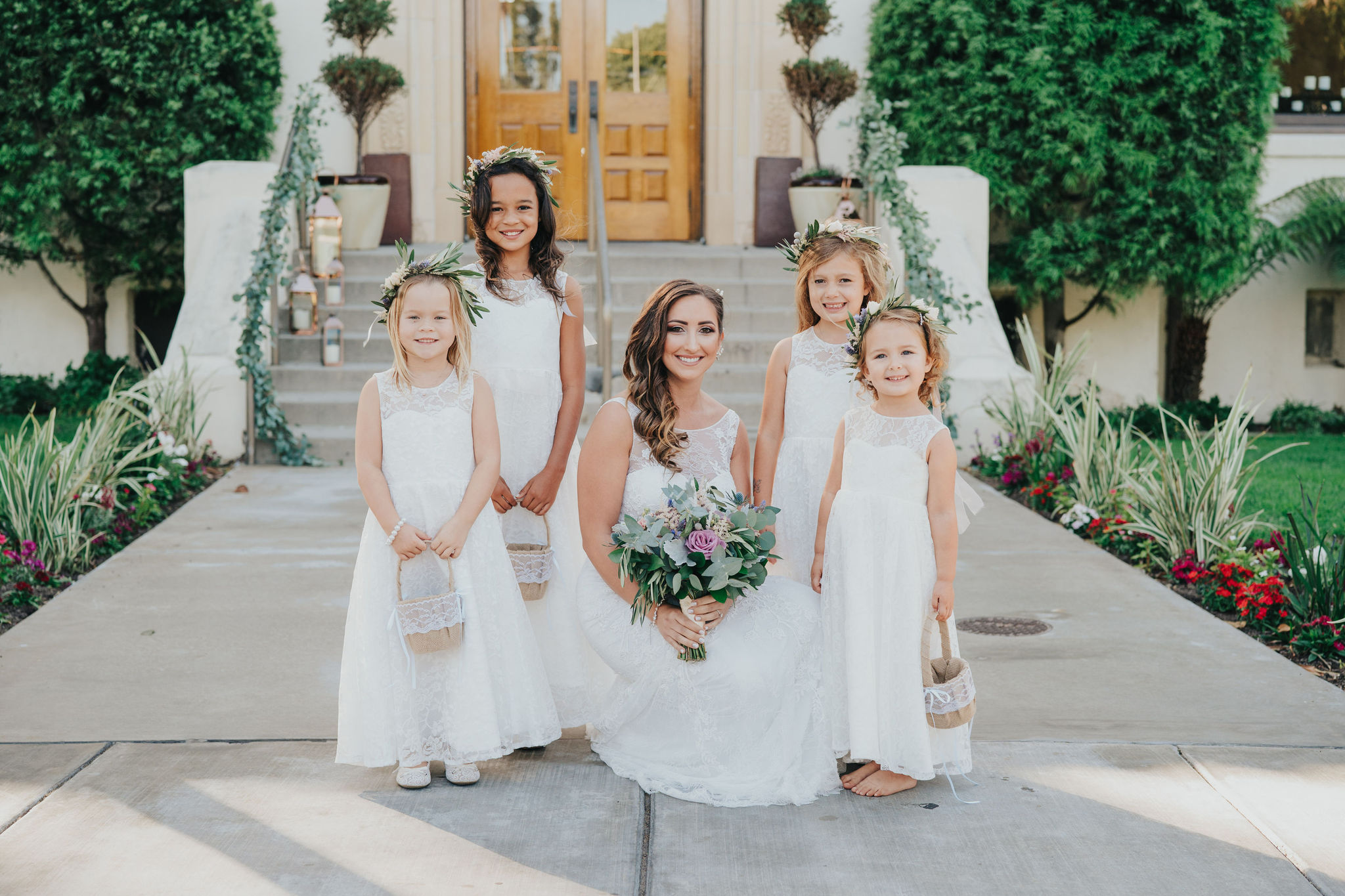 Flower Girls | Redondo Beach Historic Library