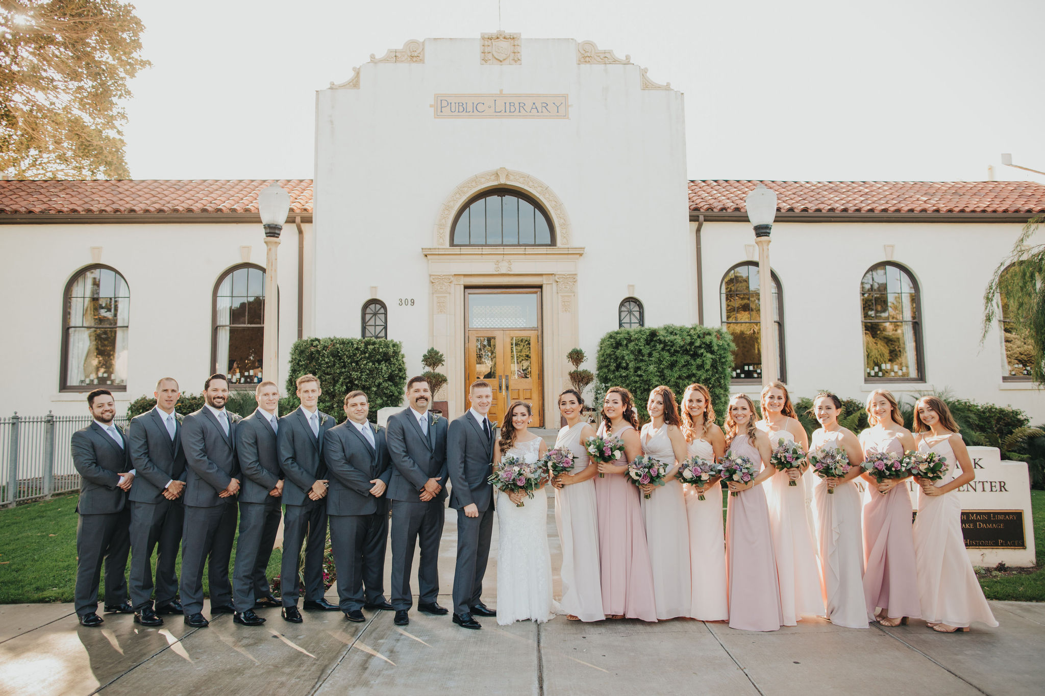 Bridal Party | Redondo Beach Historic Library