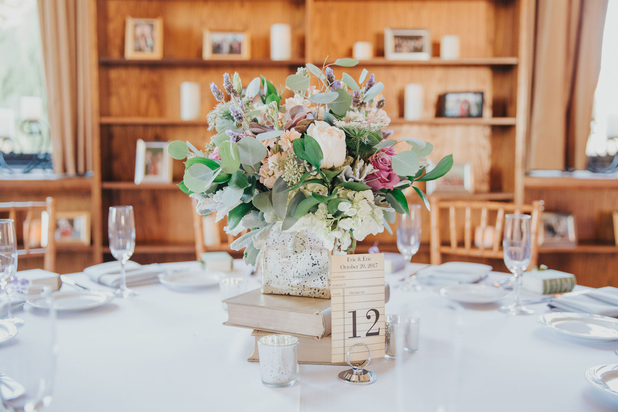 Wedding Centerpiece | Redondo Beach Historic Library