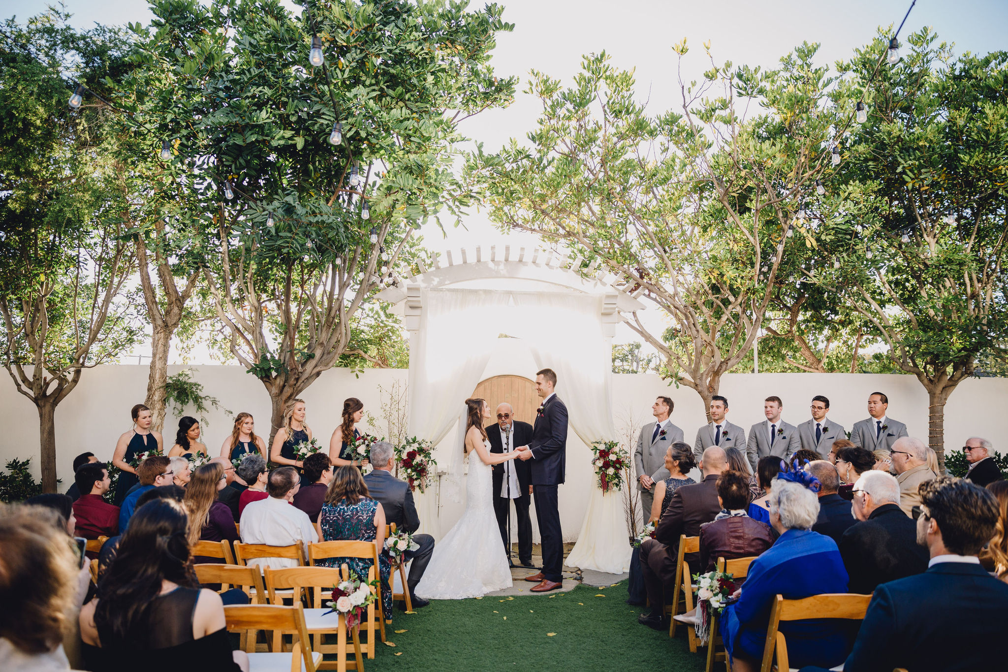Garden Ceremony | Verandas Beach House