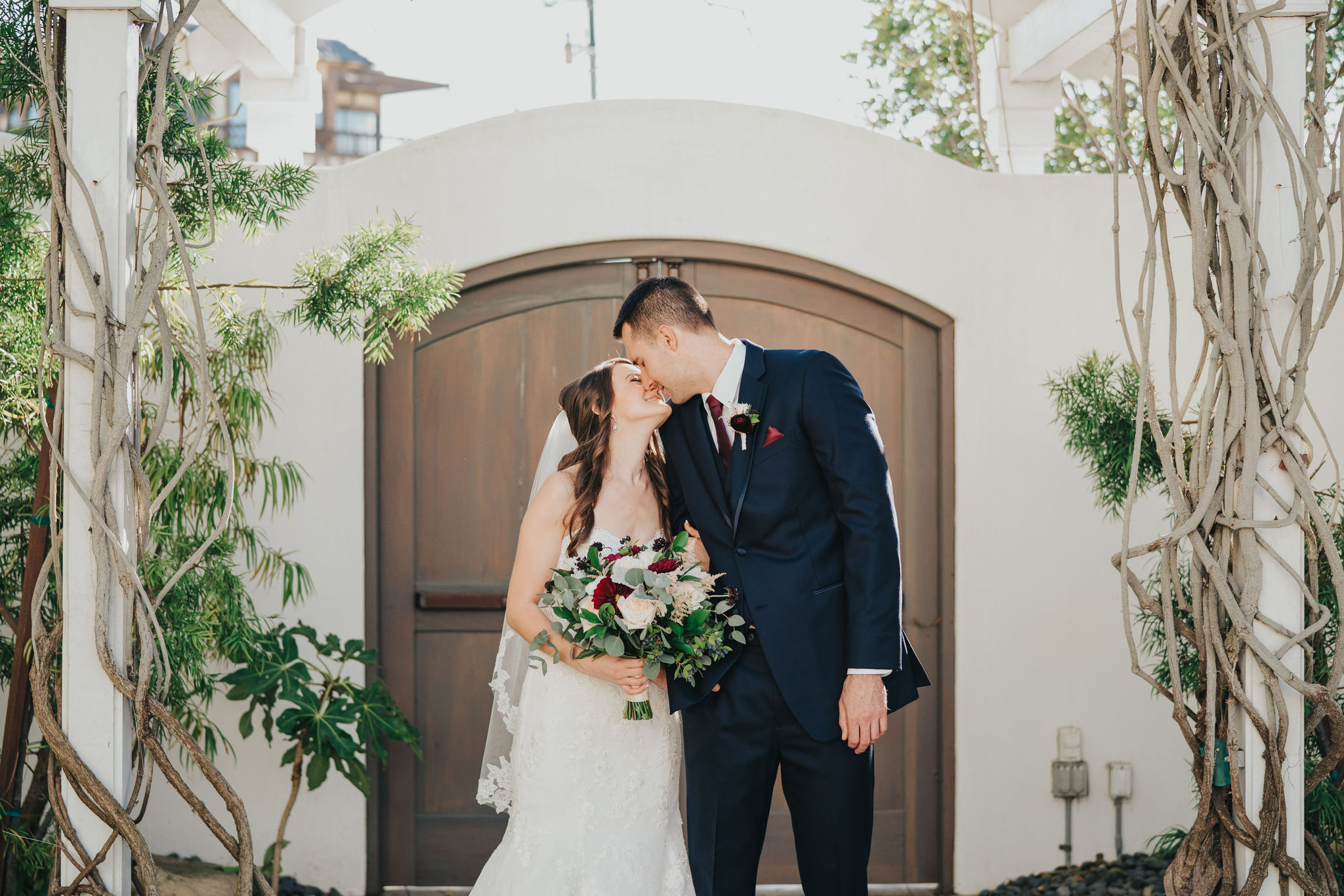 Bride and Groom | Manhattan Beach