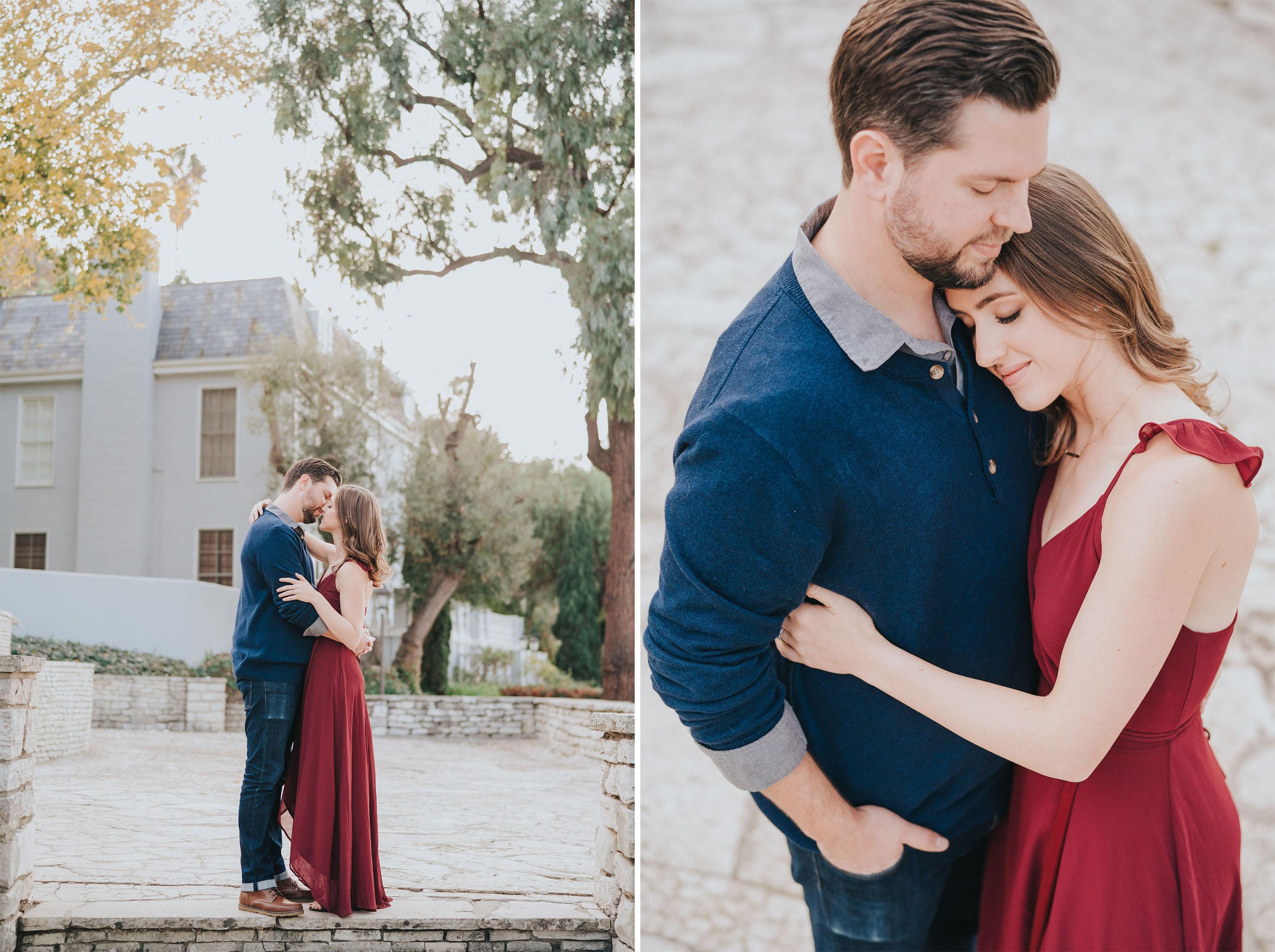 Engagement Hug