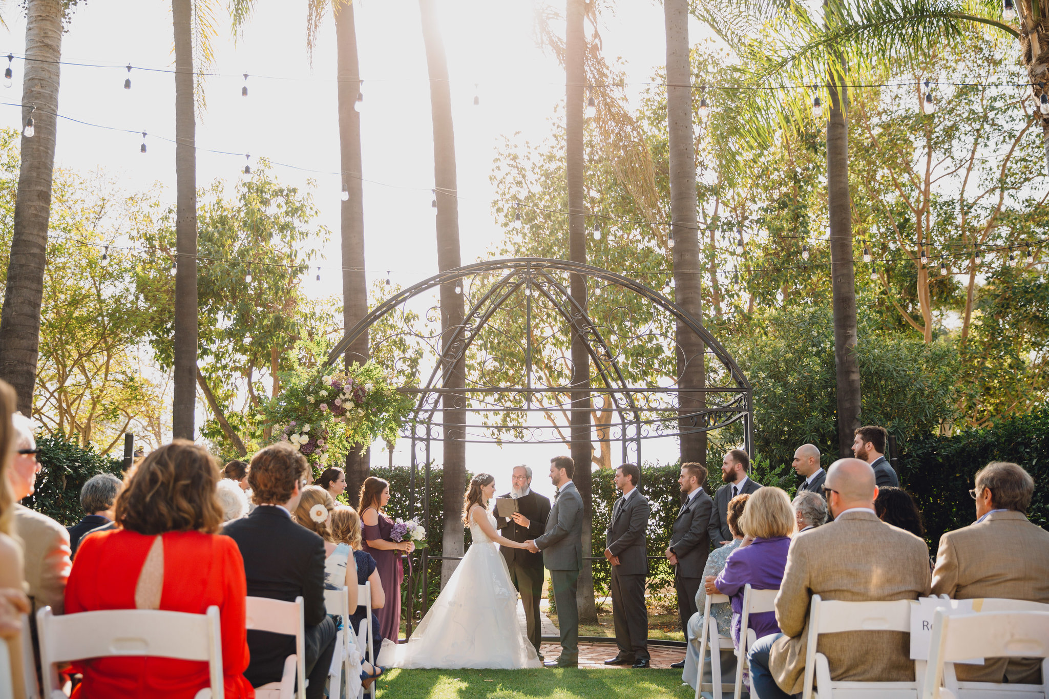 Outdoor Ceremony | Muckenthaler Mansion